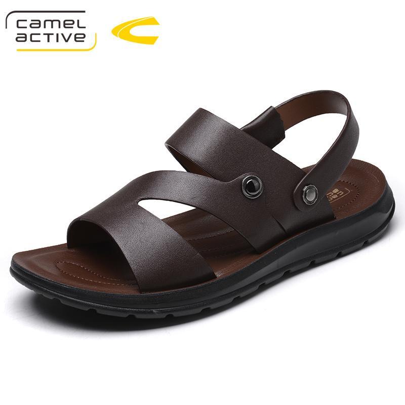 Camel Active Mens Sandals Genuine Leather Summer 2018