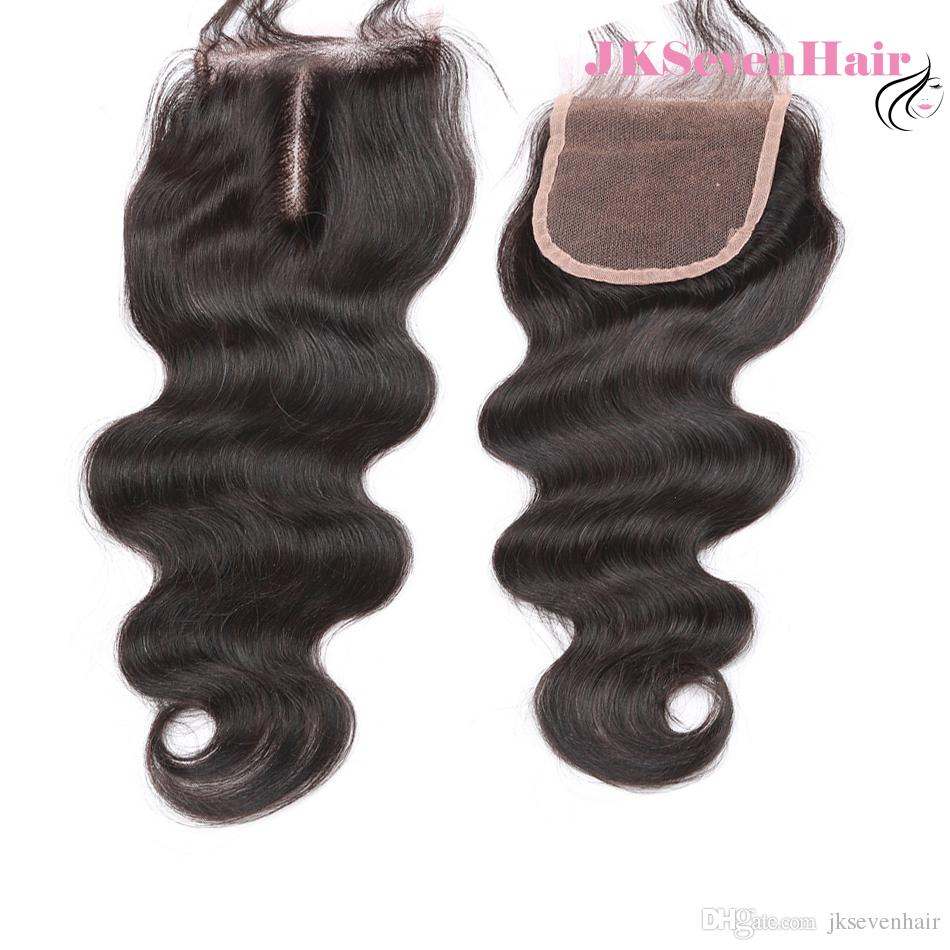 Natural Black 8A Grade Brazilian Body Wave Human Hair Extension With 4x4inch Lace Closure Malaysian Peruvian Vietnamese Hair Weaves