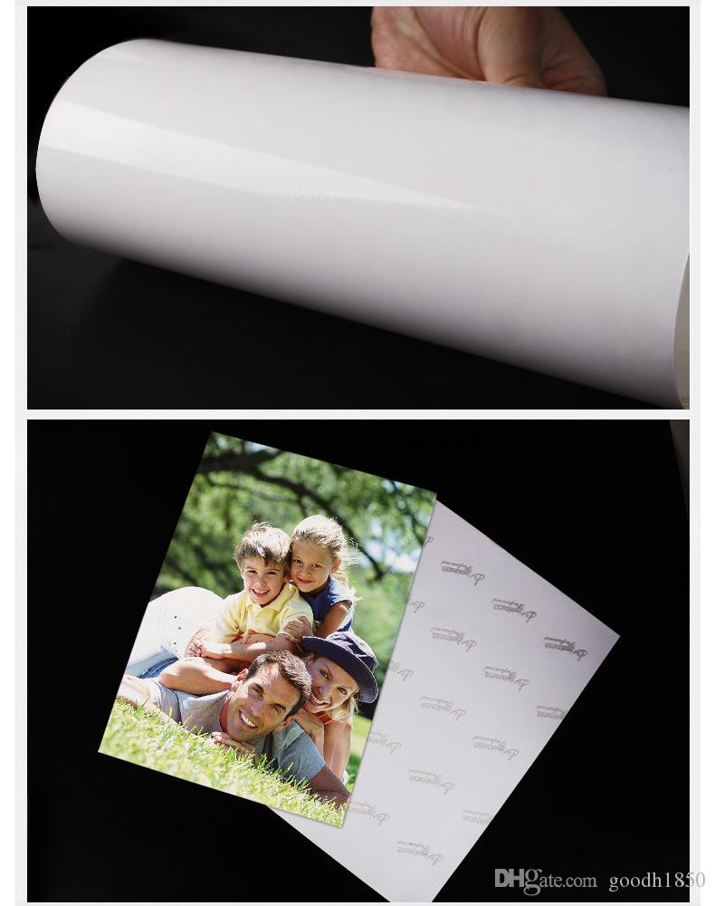 180gsm 50 Sheets A4 size High Glossy Photo Paper,usage in record trip and daily living,