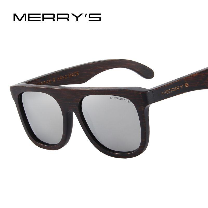 0bed849b2815c MERRY S DESIGN Men Wooden Polarized Sunglasses HAND MADE 100% UV Protection  S 5085 Baby Sunglasses Designer Eyeglasses From Meetsue