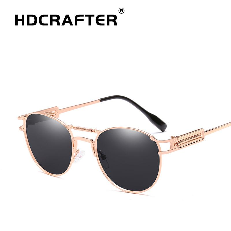 448f7efcd7 HDCRAFTER Vintage Retro Sunglasses Women Brand Design Oval Sunglasses Punk  Sun Glasses For Men Sunglasses Cheap Sunglasses HDCRAFTER Vintage Retro ...