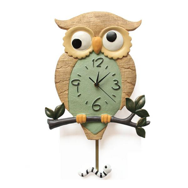 Großhandel Stille Cartoon Wanduhr Cute Owl Clock Wand Dekoration Tickende  Stille Uhren Home Decor Von Caley, $135.82 Auf De.Dhgate.Com | Dhgate