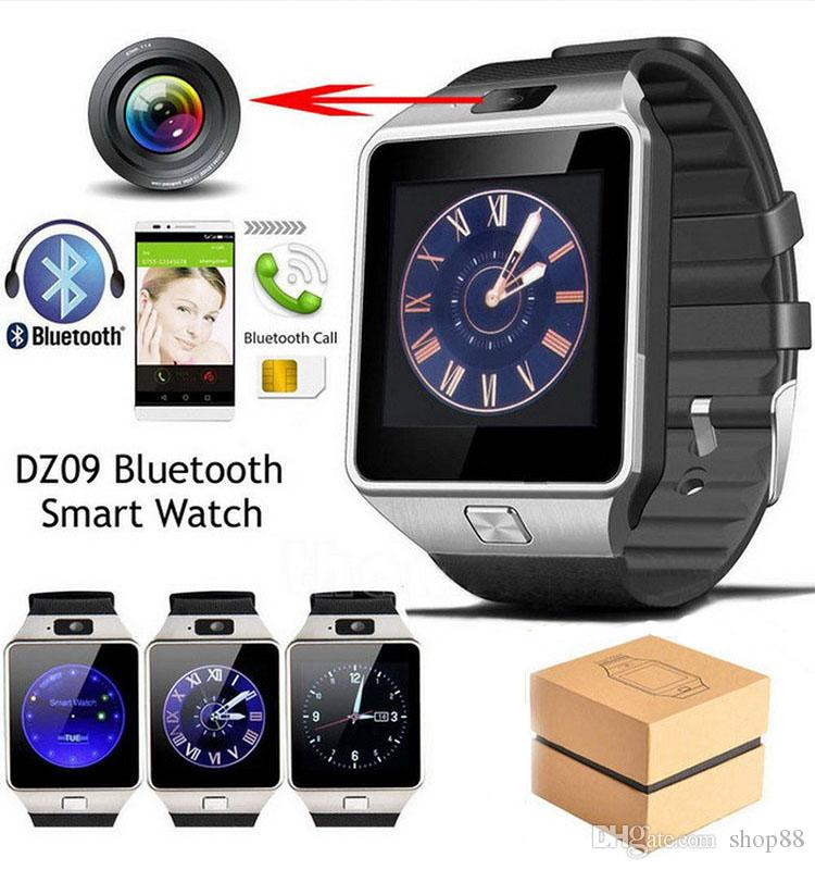 9b512f5e682 Bluetooth DZ09 Smart Watch Relogio Android Smartwatch Phone Call SIM TF  Camera for IOS IPhone Samsung HUAWEI VS Y1 Q18 Smart Watch DZ09 Watch  Online with .