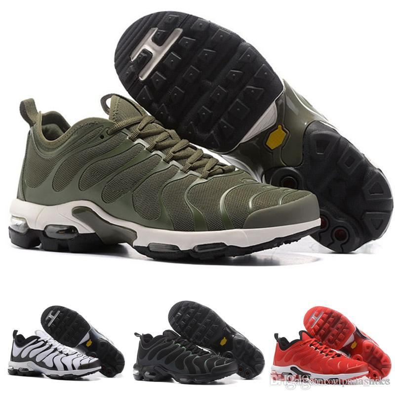 58df844b83c0 2019 2018 TN Rainbow Mens Shoes Flat Bottom Air Cushion Men Breathable  Light Running Shoes Sneakers Walking Running Shoes EUR Size 40 45 A04 From  ...