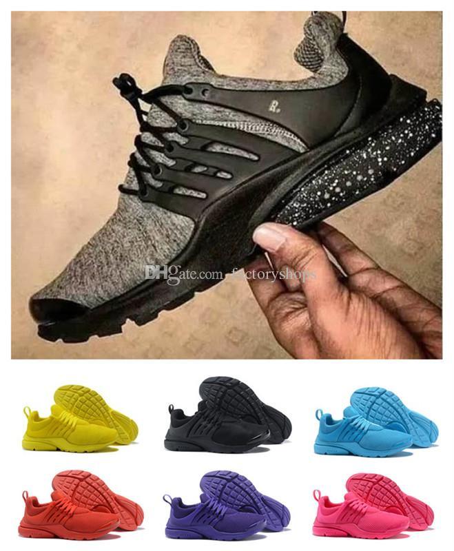 online retailer cb7a1 02d99 Großhandel 2018 TOP PRESTO 5 Ultra BR QS Atmen Schwarz Weiß Gelb Rot Herren  Schuhe Turnschuhe Damen Laufschuhe Hot Men Sport Walking Designer Schuh Von  ...