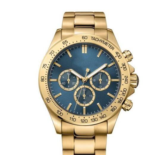 Cronógrafo Chapado Reloj 1513340 Inoxidable 2018 De Oro En Acero Nm0n8vw