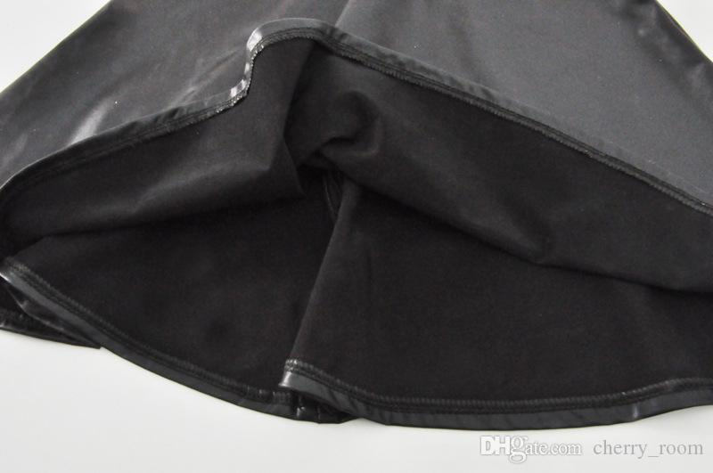2018 ребёнки Эпикировка Summer Boss Letter Детская одежда Комплекты Лето с коротким рукавом Топы футболка + черная юбка костюмы C3226