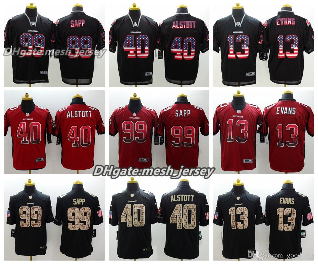 2018 Men Tampa Bay Jersey Buccaneers 40 Mike Alstott 3 Jameis Winston 13 Mike  Evans 99 Sapp Color Rush Stitching Football Jerseys From Opojersey 2fd55bb453