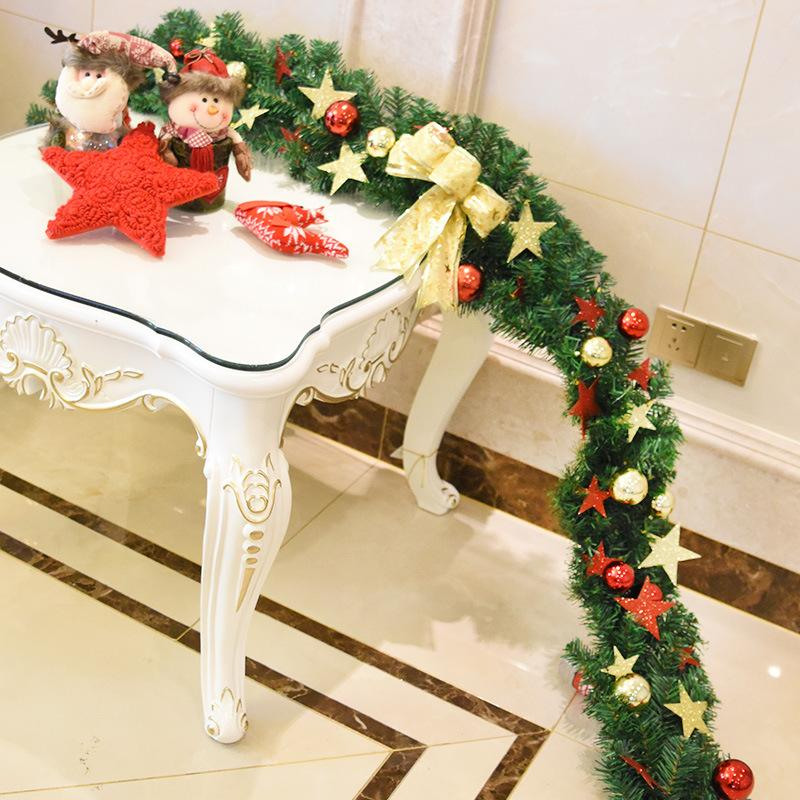 270cm xmas tree decor suppliers simulation decorative strips merry christmas gift foam diy christmas party door - Christmas Decoration Catalogs