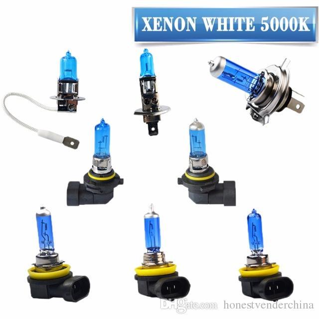 2x Super White Halogen Bulb H1 H3 H4 H7 H8 H9 H11 9005 Hb3 9006 Hb4