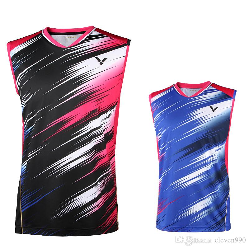 b932b8508f779d Hot New World Championship Badminton Sleeveless Tops Tennis Clothes Men S T  Shirt As Tee Shirts Awesome T Shirts For Men From Eleven990