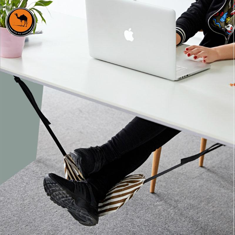 Fashion Indoor Light Portable Desk Foot Rest
