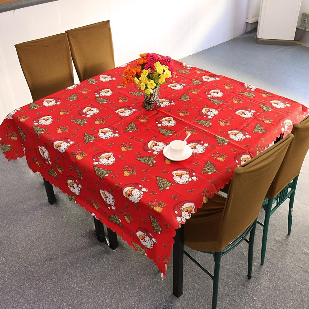 Lovely Christmas Disposable Tablecloths