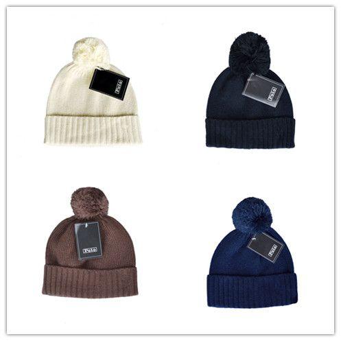 35e7e63f07d 2018 Winter Fashion Men Beanie Women Knitted Hat Casual Sports Cap ...