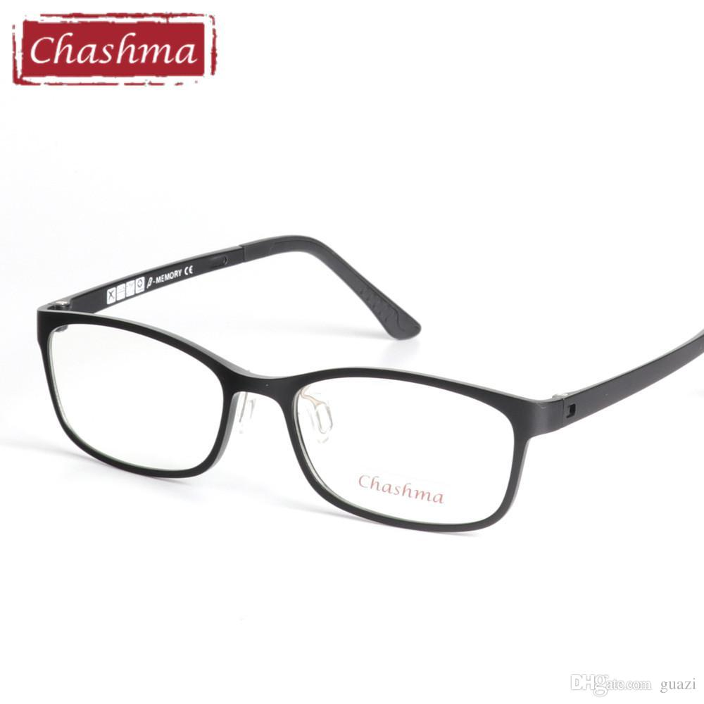 843e850ab7 2019 Chashma Brand Top Quality Ultem Glasses Frames Fashion Design Black  Red Optical Glasses Frame Women And Men Quality Eyeglasses From Guazi
