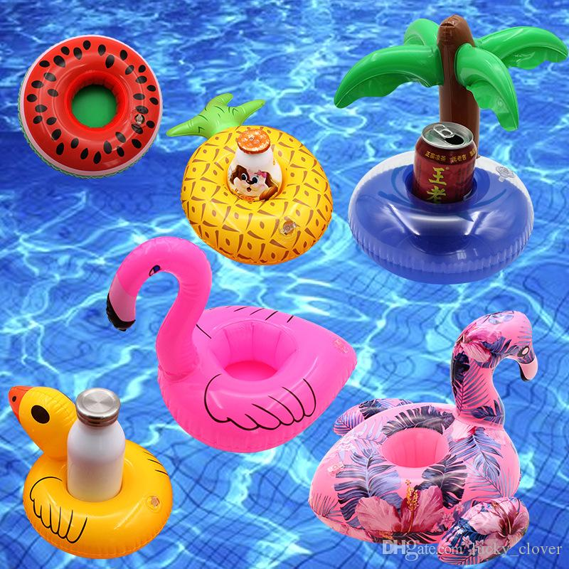 2019 Hot Sale Inflatable Flamingo Drinks Cup Holder Pool Floats Bar  Coasters Floatation Devices Children Outdoor Swimming Bath Toy SEN360 From  Lucky_clover, ...