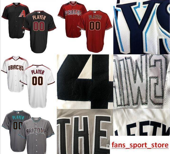 22b33837 2019 CUSTOM Aa Diamondbacks Mens WOMEN KIDS Customized Majestic 100%  Stitched Baseball Jerseys Personal name Person number SIZE S-XXXL