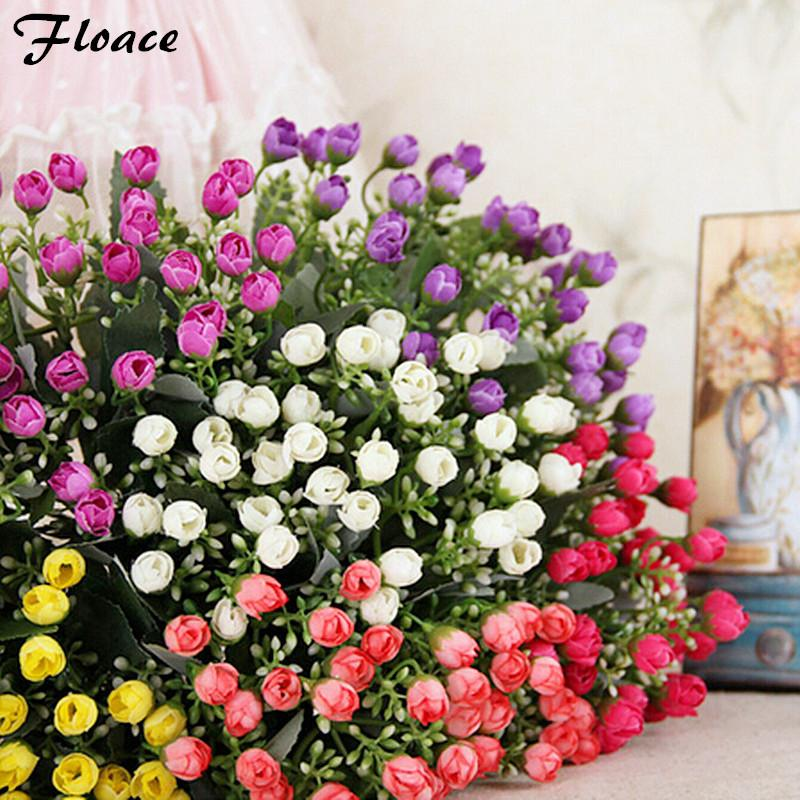 2018 floace beautiful mini silk roses bouquets artificial flowers 2018 floace beautiful mini silk roses bouquets artificial flowers home decoration available from starch 231 dhgate mightylinksfo