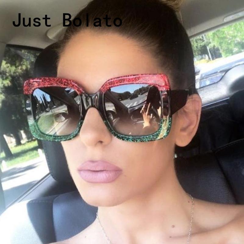 24d5454995 New Luxury Women Sunglasses Oversized Vintage Sun Glasses Big Frame ...