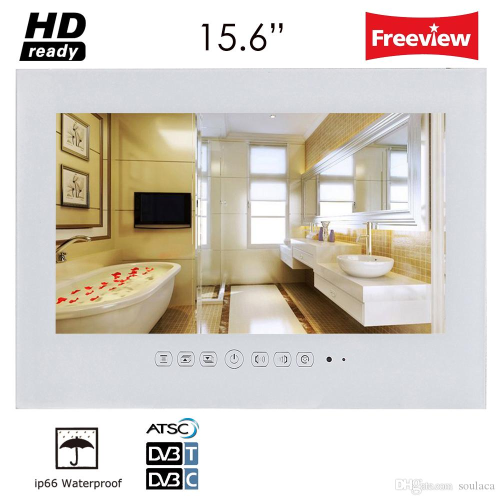 Soulaca 156 White Color Panel Bathroom Ip66 Waterproof Rated Led