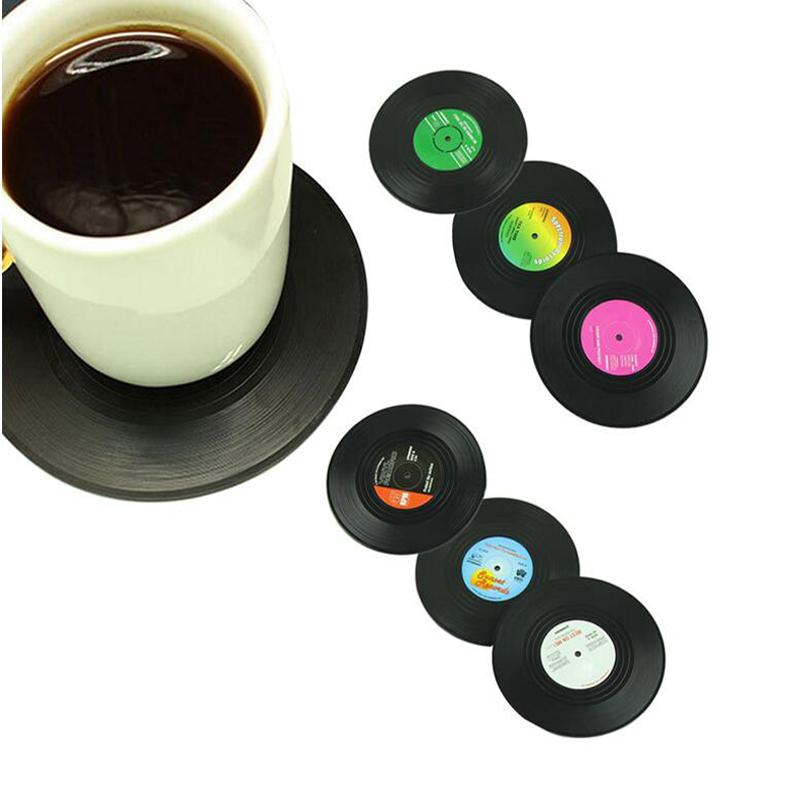 2018 Vintage Vinyl Record Beverage Coasters Anti Slip Cup Coffee Mug Mat Heat Resistant Table Placemat From Sophine12 34 32 Dhgate Com