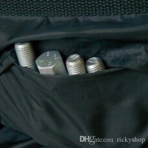 Bolsa de protección de almacenamiento de llantas de repuesto para automóvil de 4 piezas, cubierta de asas de transporte de llantas de rueda de 13
