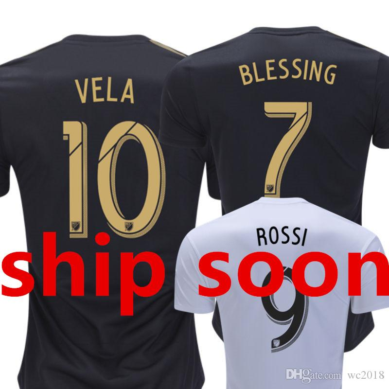 a6f65ac33 2019 MLS Los Angeles FC LAFC Soccer Jersey ROSSI VELA BLESSING FEILHABER GABER  Camisetas De Futbol Home Away Top Thai Customized Football Shirts From  Wc2018 ...