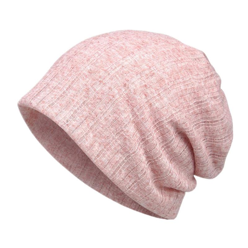 83690ad84bcc0 2019 Spring Autumn Thin Breathable Men Women Knitted Caps Summer Bonnet Hat  Solid Color Skullies Beanies Multifunction Hedging Cap From Quintin