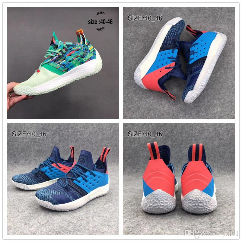 47110924f3cd 2018 High Quality Harden Vol. 2 All Star Black Red Yellow Sport Basketball  Shoes For Cheap Sale Men 2s Athletic Trainers Sneakers Size 40 46 Mens  Basketball ...