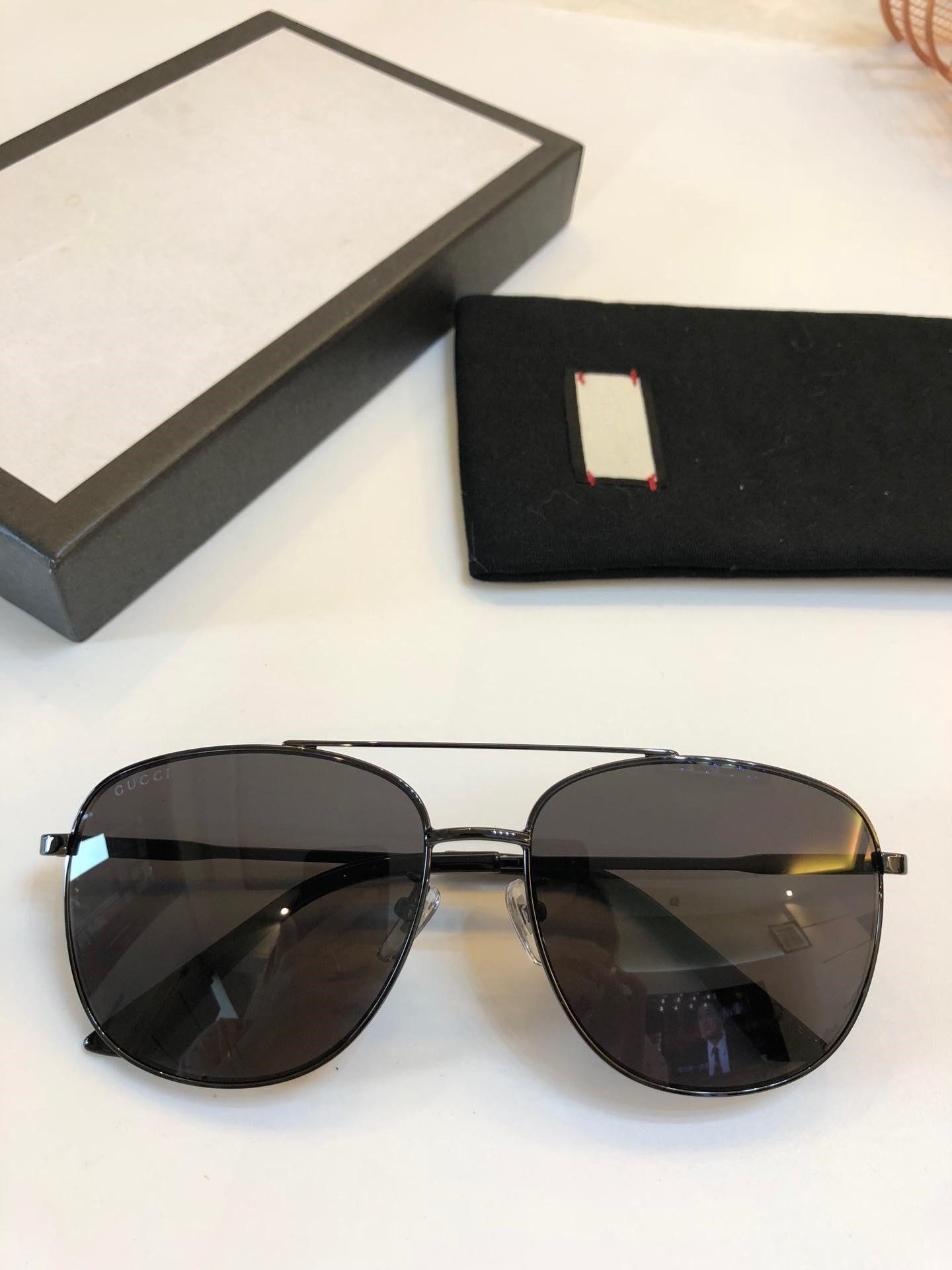 36b5216e22f Women Man Square 0410 Sunglasses Clear Glitter Frame Grey Fashion Brand  Designer Sunglasses For Women New With Box 61 16 145 Polarised Sunglasses  Baby ...