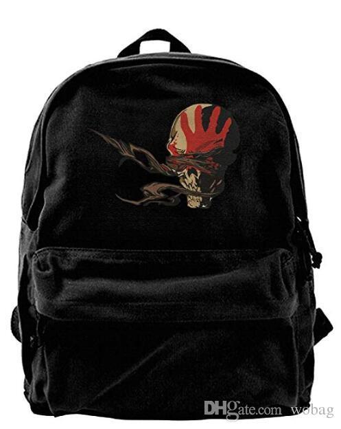 five finger death punch logo personalized bag bag for school for men