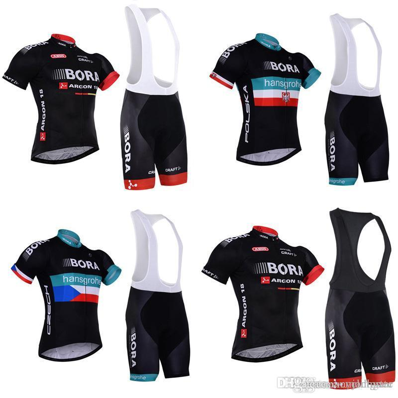 BORA Team Cycling Short Sleeves Jersey Bib Shorts Sets Good Quality And Low  Price Men Bicycle Clothing C2401 Bike Shorts Cycling Jersey From  Cyclingstar 574ddcb3f