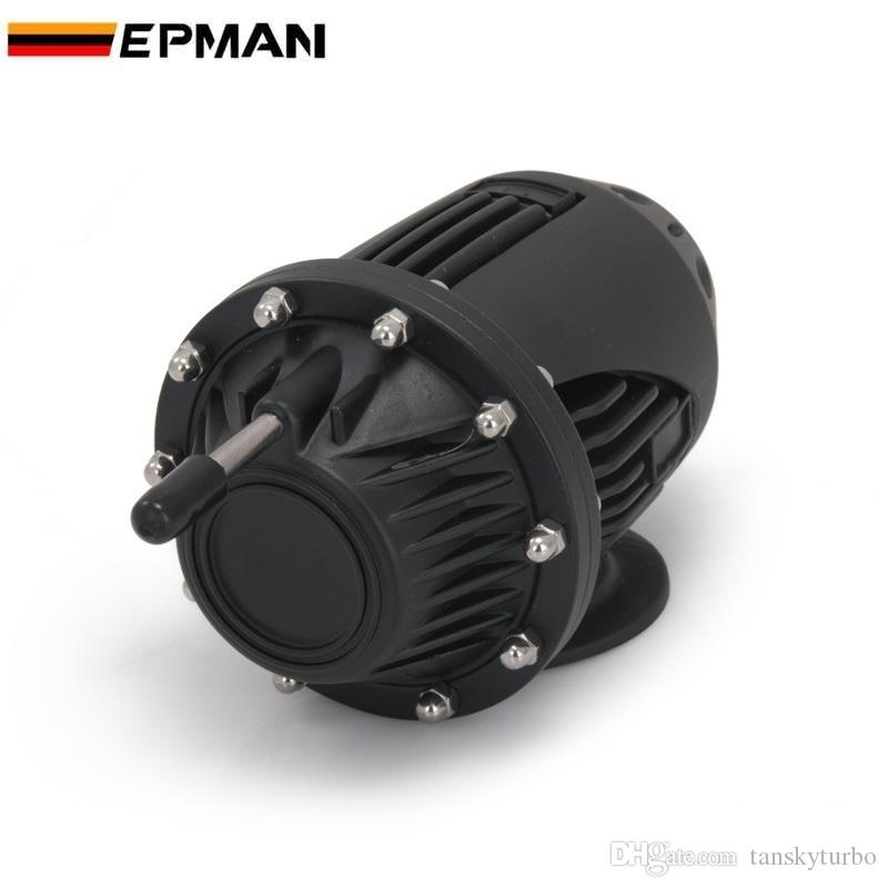 Tanky-Universal SQV SSQV BOV Turbo Blow abseits Ventil BOV mit Adapterflansch IV 4 schwarz / silber tk-sqv4