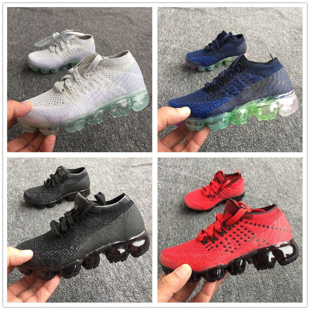 c07f8fec28 Acheter Nike Air Max Airmax Vapormax Infant 2018 Chaussures De Bande  Sneaker Kids Run Chaussures De Sport En Plein Air Filles Et Garçons Haute  Qualité Vente ...