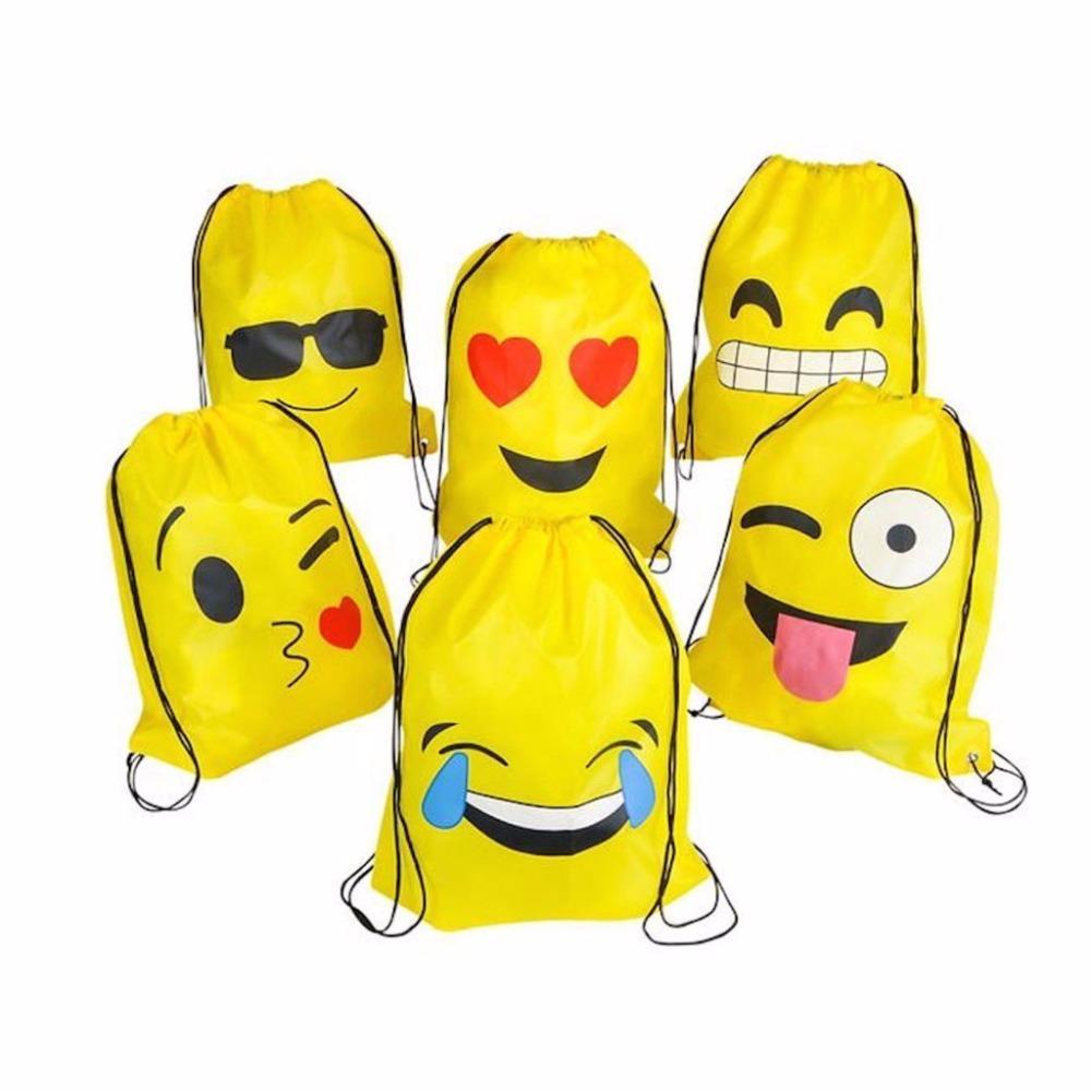 compra venta presentación más baratas Cute Emoji Drawstring Backpack- Fenix Toulouse Handball