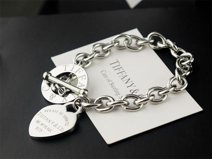 01f515e32 2019 Heart Tag Toggle Bracelet Sterling Silver 925 Bracelets Rings Earrings  Necklaces Pendants Wedding Bands Charms Diamond Hoop Bracelet From  Diouman447447 ...