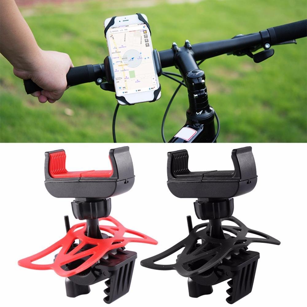 2019 Universal Mountain Bike Phone Holder Mount Silicon Mobile Phone
