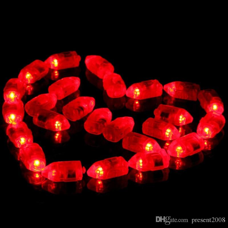 Yeni 2016 50 adet Kağıt Fener Balon Için Su Geçirmez LED Işık Noel Düğün Dekor Sıcak Satış