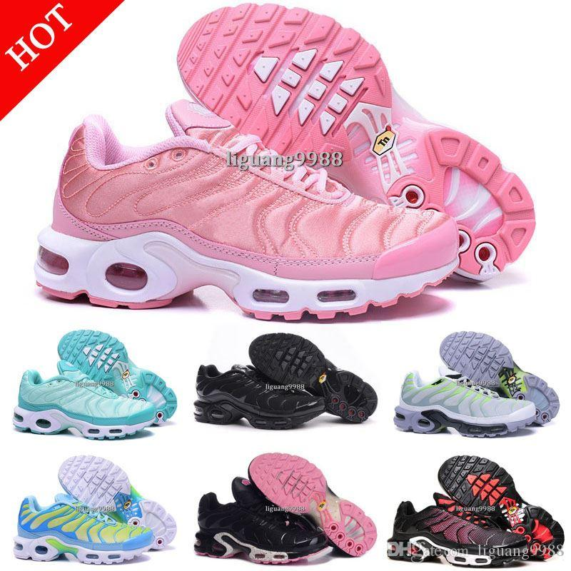2018 Cheap Brand New Womens Tn Running Shoes Black White Women Sports Shoes  Pink Blue Woman Best Athletic Trainers Sneakers Tennis Shoes Best Running  Shoes ... 1bb51f7de
