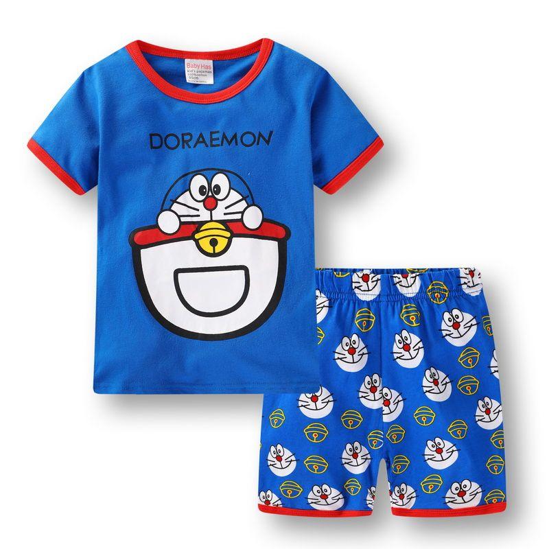 2a15d28e7 Retail Children S Summer Pijamas Short Sleeved Sleeping Suits Baby ...