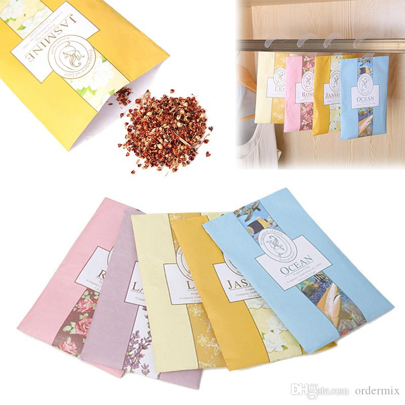 small Fragrant lavender sachet scented hanging wardrobe closet car odor mildew insect repellent clothes fragrant sachet bags