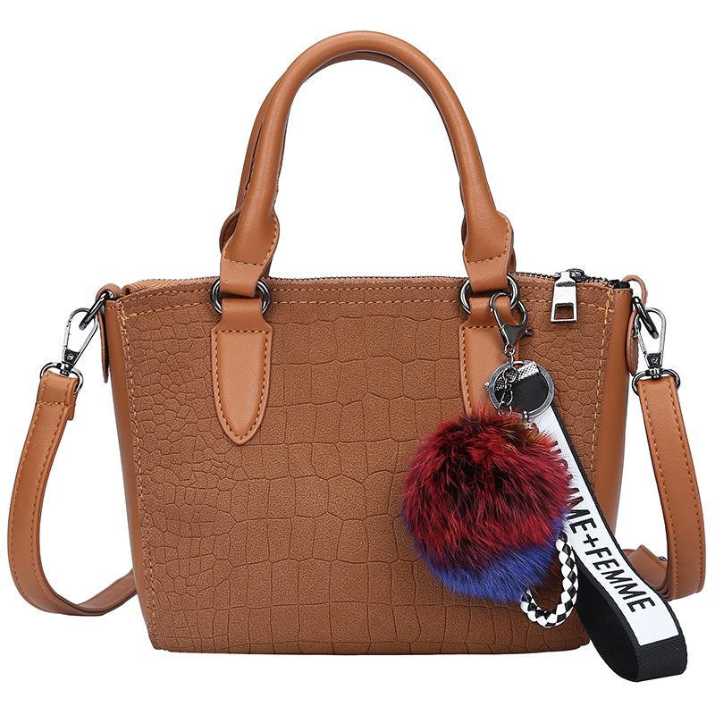 Women Bag Female Shoulder Bag New Stone PU Leather Pattern Designer ... 04195eb2a93f3