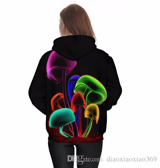 Europe and the United States explosion models loose 3D hooded sweater Europe and the United States wind