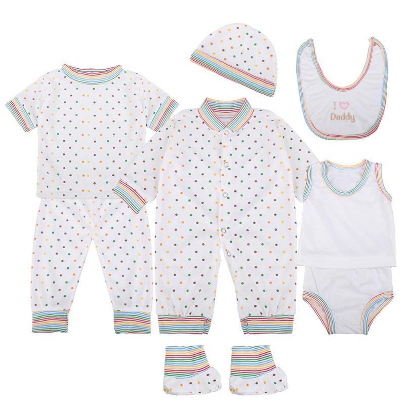 561d8ca4cc610 Acheter   Set Nouveau Né Bébé Coton Costumes Mignon Maison Casual Vêtements  Infantile Enfants Sous Vêtements Doux Bébé Garçon Filles Vêtements Ensemble  0 3 ...