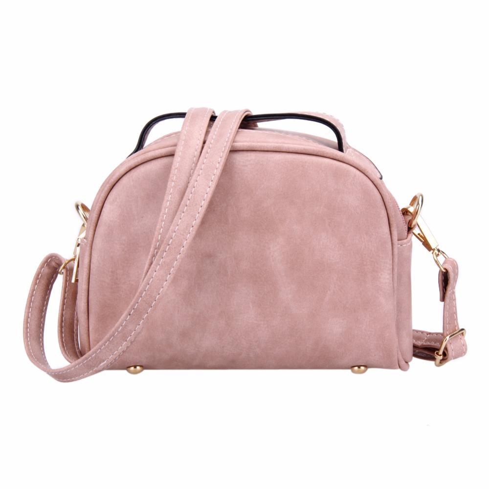 1fd328bc25 Fashion Small Women Messenger Bag PU Leather Handbags Mini Shoulder  Crossbody Bag Casual Girls Clutches Purses Cell Phone Pouch Discount  Designer Handbags ...