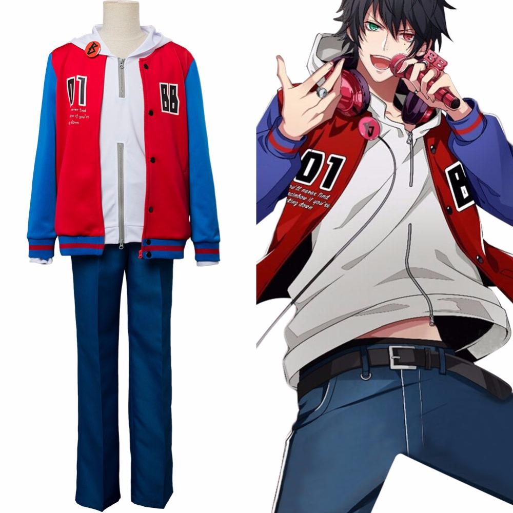 Cosplay Hypnosis Mic Yamada Ichiro Costume DRB Division Rap Battle Suit  Outfit Adult Women Men Halloween Carnival Customizable
