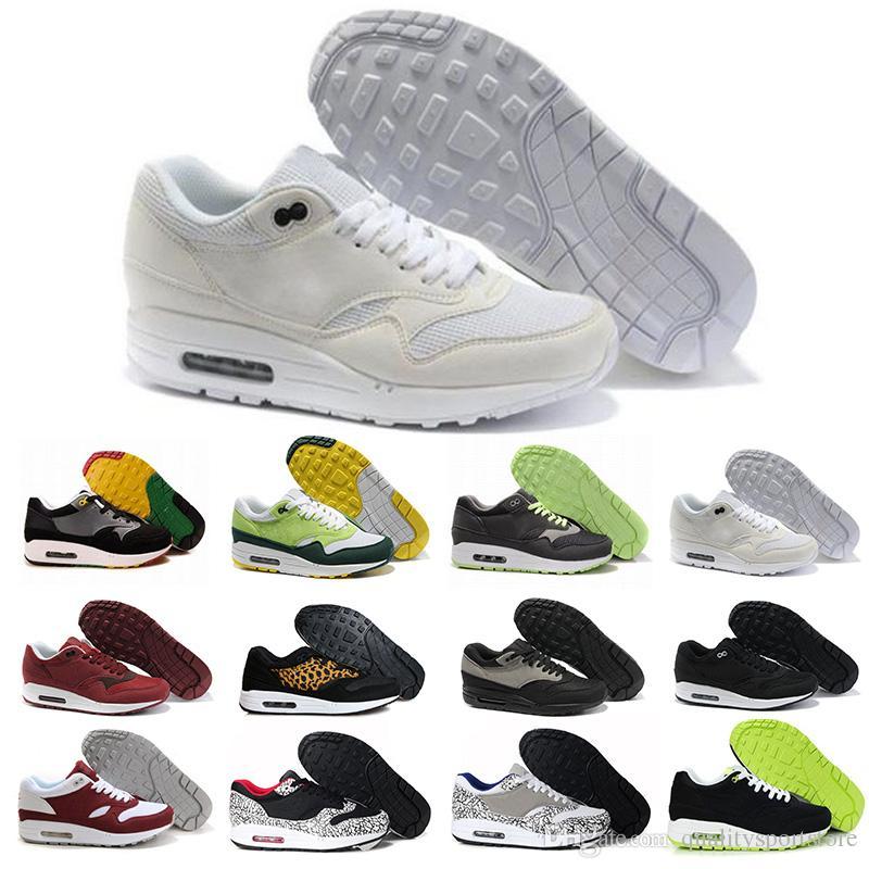 a0782000417fac Großhandel Nike Air Max Airmax 2018 Marke Schuhe 1 Atmos Multi Color M 87  87s Damen Herren Laufschuhe Sportschuhe Sport Marke Turnschuhe Größe 36 46  ...