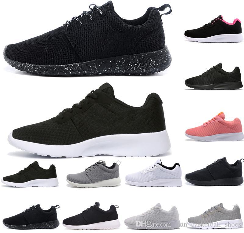 Nike Tanjun Premium Lauf und Freizeitschuhe Herren schwarz 2019