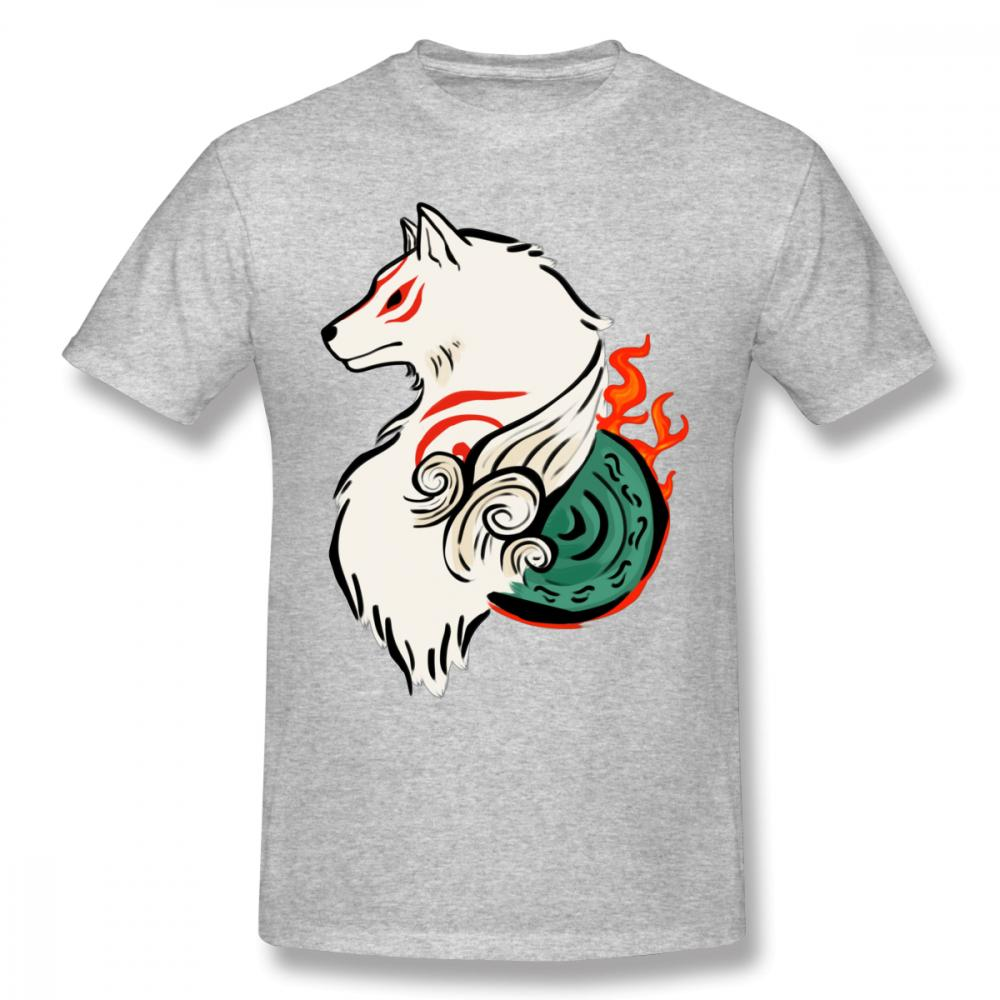 8312f13bd7e Man s 3d Print Okami Amaterasu Game T Shirt For Unisex Popular Ammako  Quality Cotton T Shirt Online with  28.54 Piece on Lanfystore s Store