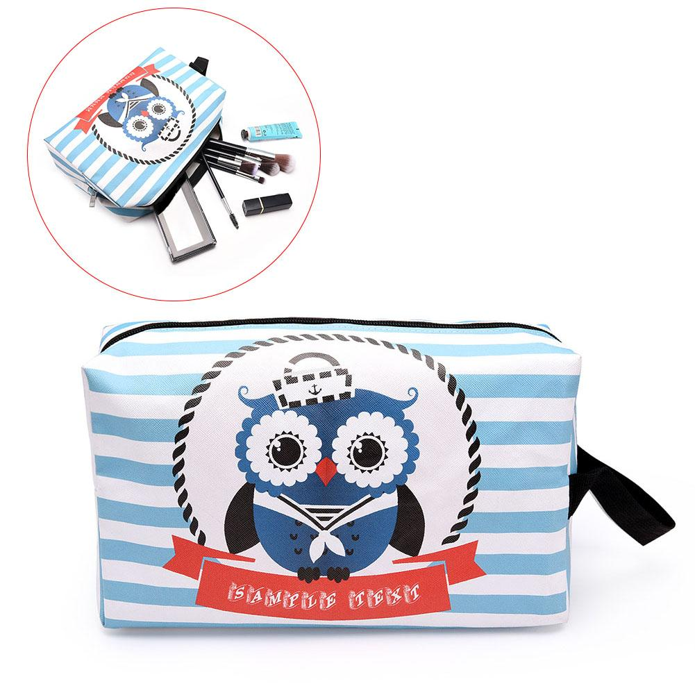 435353d7e102 Cute Cartoon Printed Makeup Storage Bag Travel Organizer Pouch Toiletry  Cosmetic Large Capacity WBags WML99